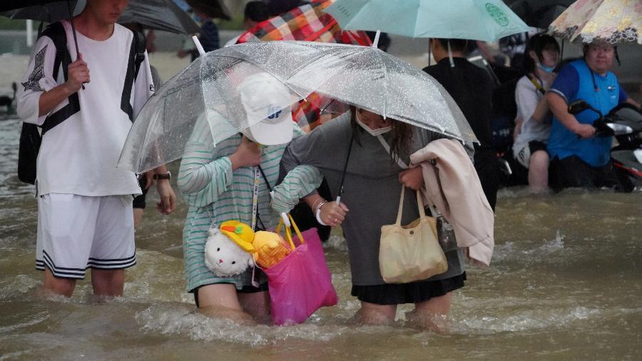 Na Província de Henan, total de vítimas das chuvas intensas registradas nos últimos dias chega a 25 - Reuters