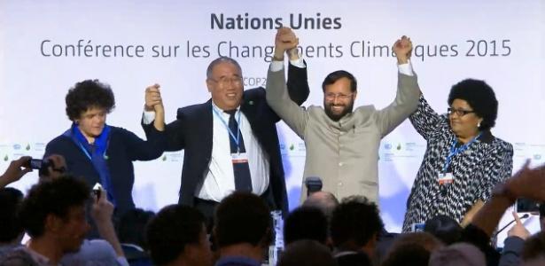 Brasil, África do Sul, Índia e China afinam discurso na COP-21 - Reprodução