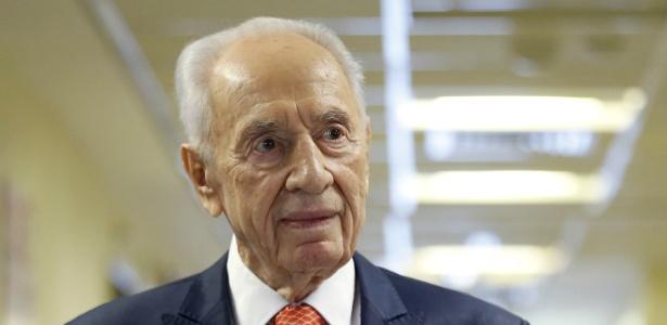 O ex-presidente de Israel Shimon Peres