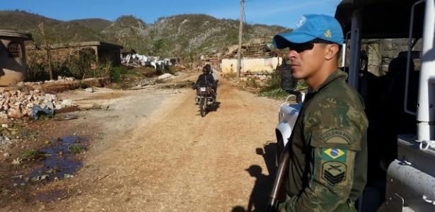 Haiti: Em algumas cidades o acesso só é possível de moto ou em grandes caminhões