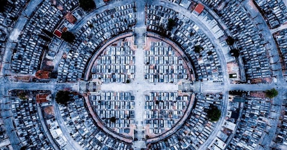 O concurso Dronestagram reúne as fotos mais bacanas tiradas com o auxílio de drones. Anualmente, uma banca julgadora define os melhores cliques submetidos ao site. Acima, o terceiro lugar na categoria urbano