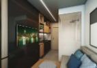 Prédio em São Paulo que terá apartamentos de 10 metros quadrados - Divulgação