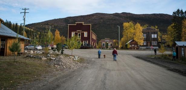 Situada entre montes ricos em prata, zinco e chumbo, Keno City, no Canadá, tem vinte habitantes, incluindo os moradores ocasionais