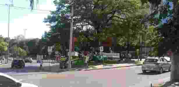 Ato em Porto Alegre - Luiz Antônio Araujo/BBC Brasil - Luiz Antônio Araujo/BBC Brasil