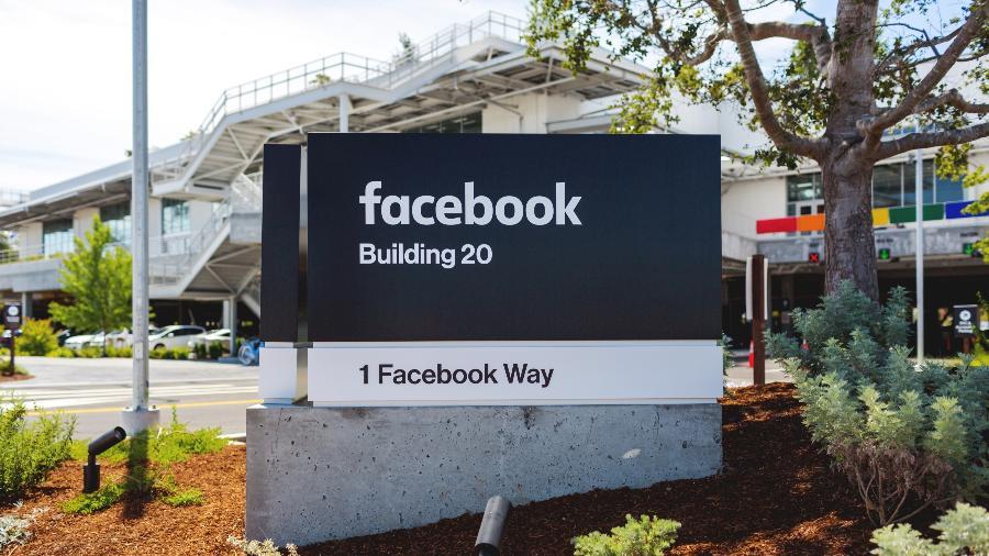 Sede do Facebook em Menlo Park, California - Divulgação