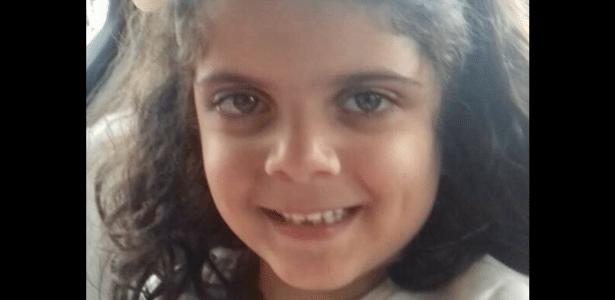 Maiza, de seis anos, está desaparecida desde o dia 30 de junho - Reprodução/Facebook