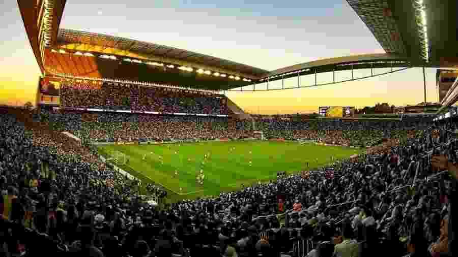 Estádios da Copa América, como a Arena Corinthians, poderão ser utilizados às vésperas do torneio, dependendo do gramado - Divulgação