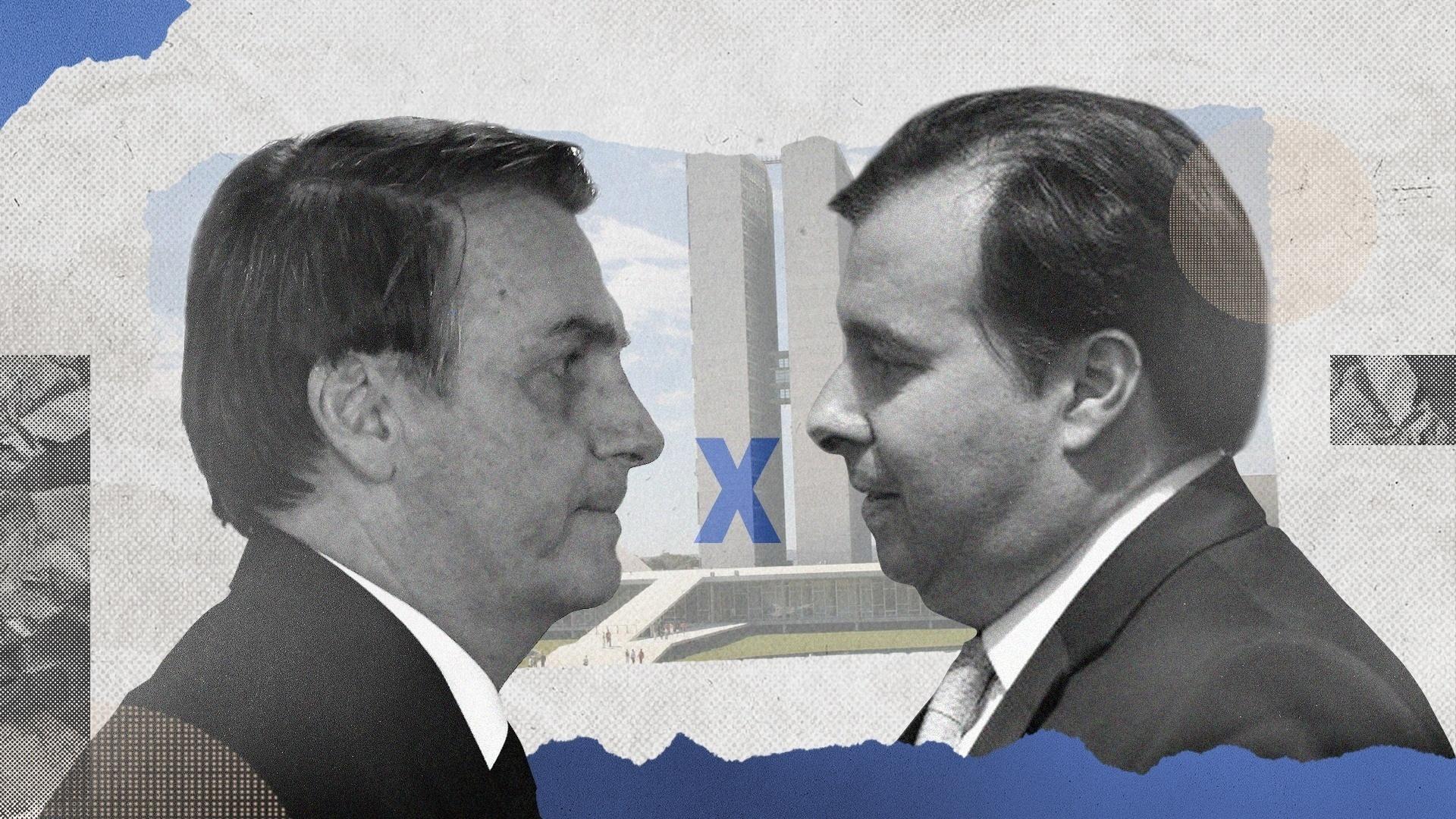 Futuro de Bolsonaro está nas mãos de inimigo Rodrigo Maia - Blog ...