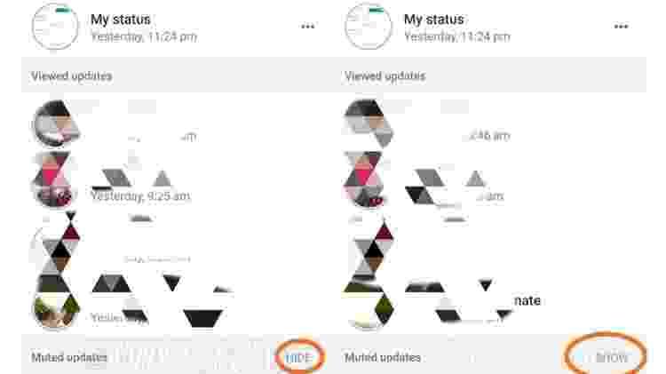 Usuários de Android terão a opção de ocultar status dos amigos no WhatsApp - Reprodução/WaBetaInfo