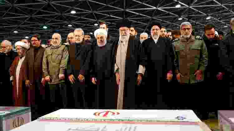 Ali Khamenei - Presidência do Irã/AFP - Presidência do Irã/AFP