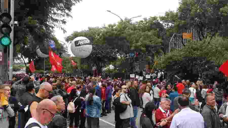 """Doria também afirmou que a manifestação dos servidores públicos contra a votação foram """"atos de vandalismo"""" - PABLO WASHINGTON /PHOTOPRESS/ESTADÃO CONTEÚDO"""