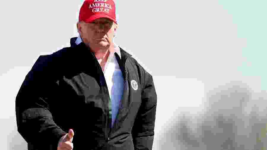 Presidente dos EUA, Donald Trump - TOM BRENNER