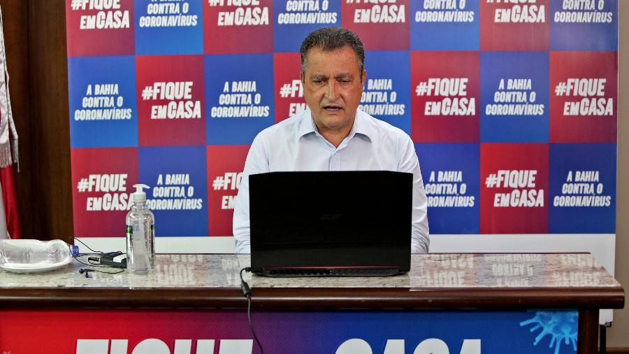 Rui Costa criticou o governo federal - Paula Fróes/GOVBA