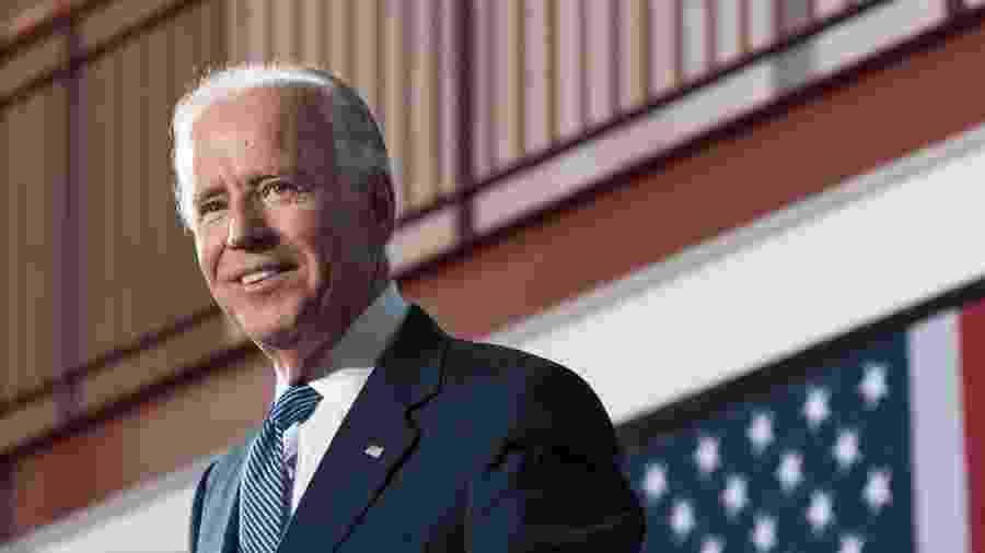 Joe Biden foi oficializado ontem como candidato do partido Democrata à Presidênca dos Estados Unidos - Por John Whitesides
