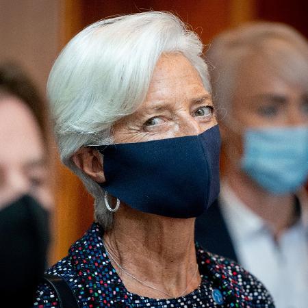 Lagarde explicou que o BCE iniciou as consultas e testes necessários para desenvolver este euro digital - POOL/Reuters