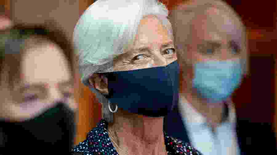 Presidente do BCE, Christine Lagarde - POOL