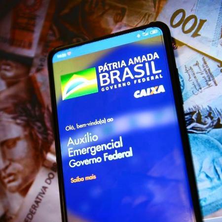 Só pode pedir a reativação do benefício quem recebia o auxílio emergencial de R$ 600 ou a extensão de R$ 300 em dezembro do ano passado - Marcelo Camargo/Agência Brasil