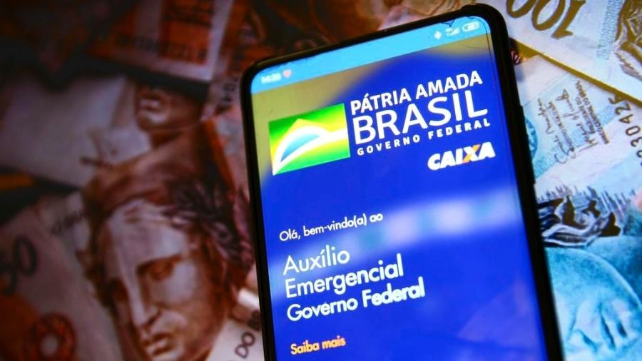Só pode pedir a reativação do benefício quem recebia o auxílio emergencial de R$ 600 ou a extensão de R$ 300 em dezembro do ano passado. - Marcelo Camargo/Agência Brasil