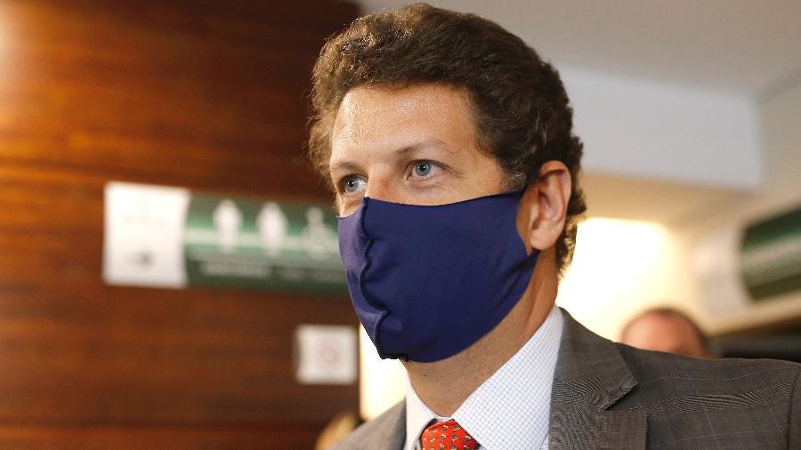 Ricardo Salles dá entrevista após operação realizada pela PF - Dida Sampaio/Estadão Conteúdo