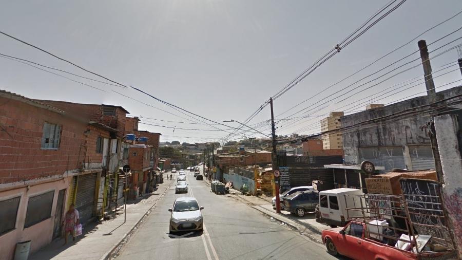 Rua Alba, onde três jovens foram mortos a tiros - Reprodução/ Google