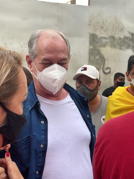 Ciro Gomes participa de manifestação contra Bolsonaro após criticar Lula - Letícia Mutchnik/UOL
