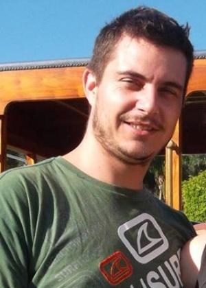 O empresário Rogério Bonetti Bernardi, 30 anos, morto após acidente com ultraleve em Socorro (SP)