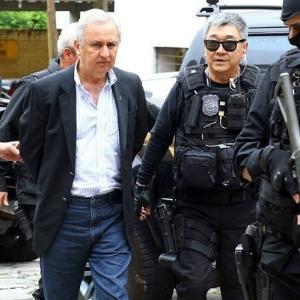 José Carlos Bumlai é levado ao complexo médico penal de São José dos Pinhais (PR)