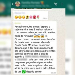Reprodução/WhatsApp