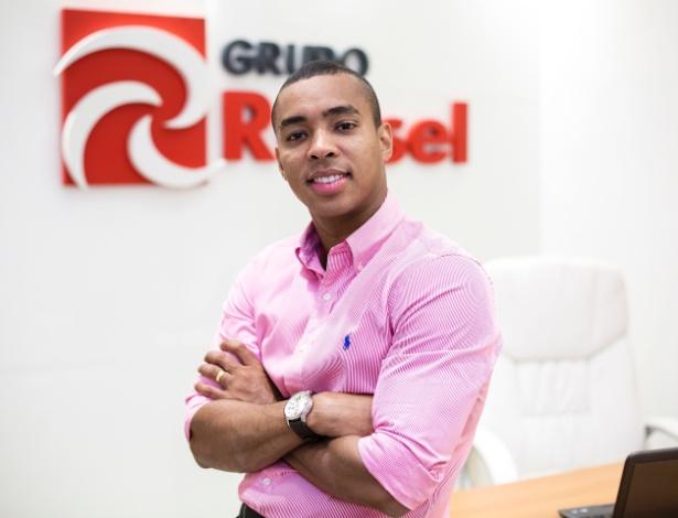 Hugo Leonardo Russel é dono da Russel Serviços, que faturou R$ 6,4 milhões em 2016 - Divulgação