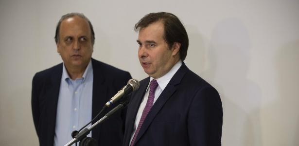 """21.ago.2017 - Maia disse que o Estado """"não pode mais esperar"""" por plano de recuperação - Celso Pupo/Estadão Conteúdo"""
