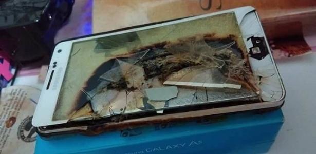 Mulher dormia quando celular, que carregava em cima de colchão, pegou fogo em SP