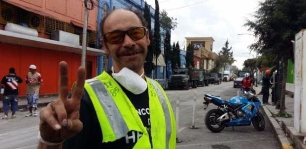Javier Serrano Olivera diz ter renascido depois de ser resgatado dos escombros após tremor da última terça-feira