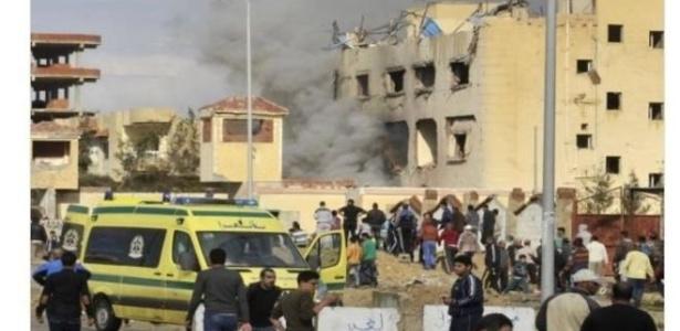 Essa foto é de três anos atrás e não do ataque de sexta-feira (24) no Egito