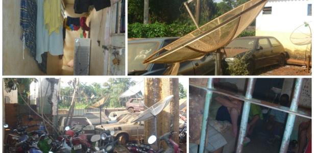 Imagens de inspeção do MP mostram precariedade da cadeia de Maurilândia, no interior de Goiás