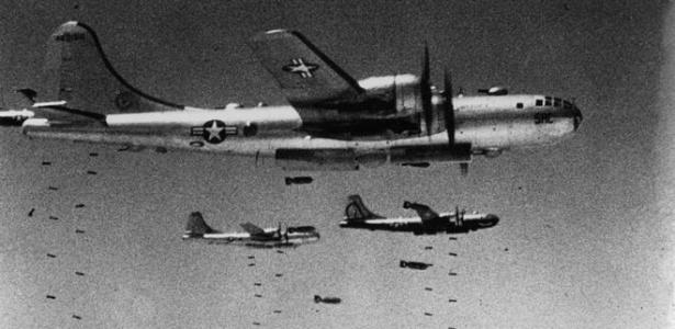 Os bombardeios americanos foram um pesadelo para a população civil norte-coreana - Getty