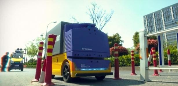 G Plus, robô de entregas da Alibaba