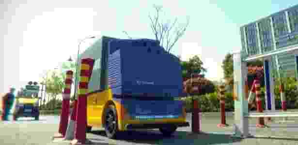 Carro autônomo do Alibaba para fazer entregas: plano logístico é ambicioso  - Reprodução/Alibaba