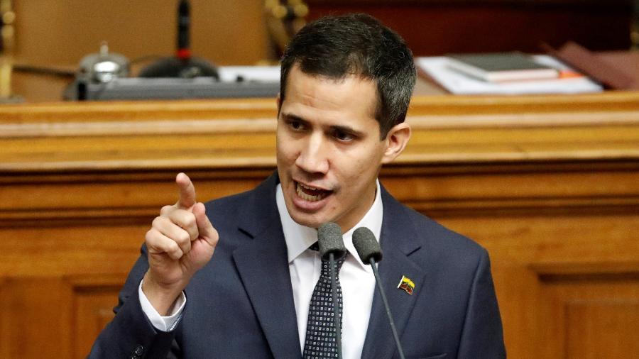 Guaidó, de 35 anos, é o presidente da Assembleia Nacional da Venezuela e se autoproclamou presidente do país - Manaure Quintero/Reuters