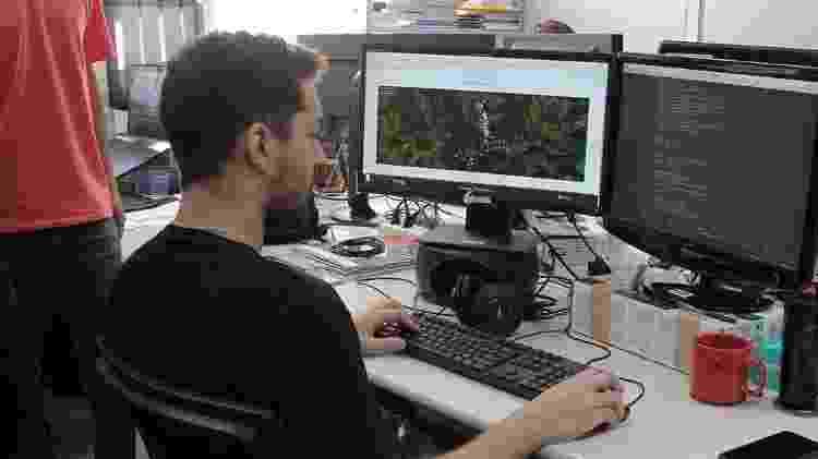 Pesquisadores do Laboratório de Análise Massiva de Dados do ICMC-USP - Reinaldo Mizutani/ICMC-USP. - Reinaldo Mizutani/ICMC-USP.
