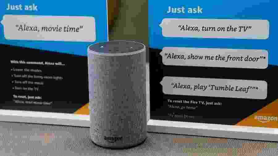A assistente Alexa responde a tarefas a partir de comandos de voz - Elijah Nouvelage/Reuters