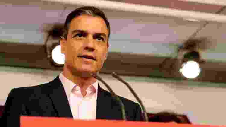 O PSOE, liderado por Pedro Sánchez, saiu vitorioso nas eleições parlamentares - EPA/BBC - EPA/BBC