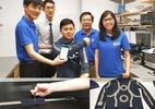 Inventaram uma roupa inteligente que melhora sinal e bateria de gadgets (Foto: Divulgação/NUS)