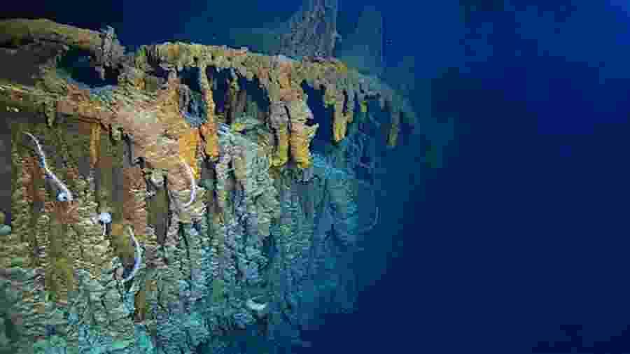 Exploradores descobriram que algumas partes do Titanic estão desaparecendo - Atlantic Productions