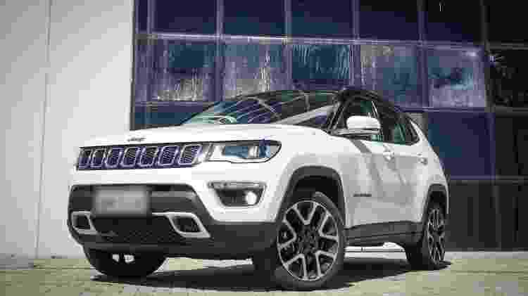 Jeep Compass foi alugado por R$ 8.000 (imagem ilustrativa) - Reprodução