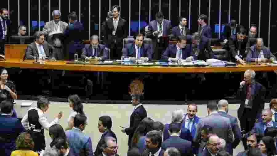 Câmara vota pedido para colocar previdência dos militares em nova votação - Pablo Valadares/Câmara dos Deputados