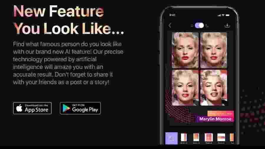 App Gradient - Reprodução