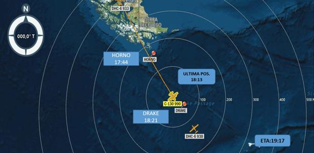 Seguia para a Antártida   Avião da Força Aérea do Chile desaparece com 38 pessoas
