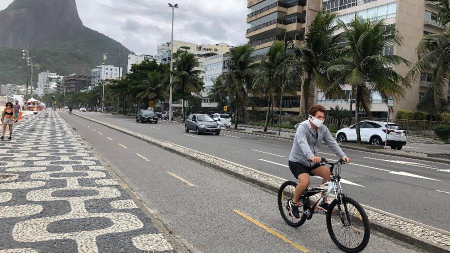 O Leblon é o bairro com a maior incidência de pessoas com coronavírus por habitante no Rio - Herculano Barreto Filho/UOL