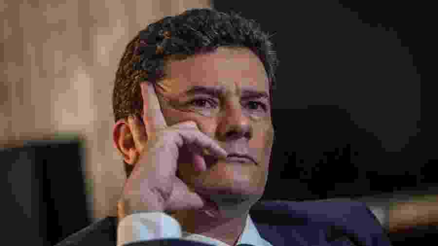 Ministro Sergio Moro anunciou demissão com discurso duro contra o presidente Jair Bolsonaro - Getty Images