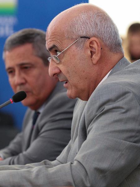 Ministros Luiz Eduardo Ramos e Walter de Souza Braga Netto - Marcos Corrêa/Presidência da República